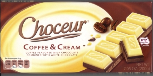 Choceur Coffee & Cream  Chocolate Bar 7.05 oz/200g